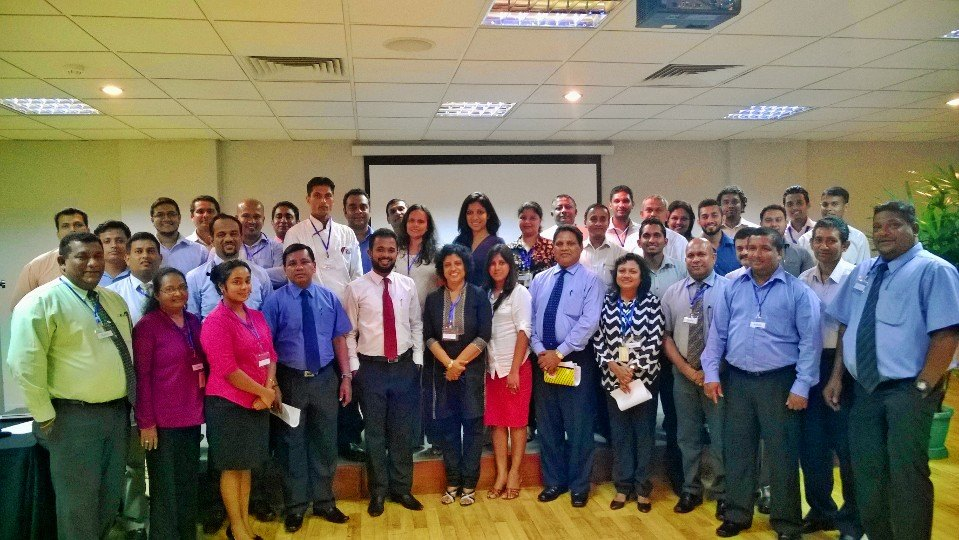 Successful training for Prima Ceylon on Personality Development.