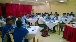 Sales training for DIMO in Jaffna