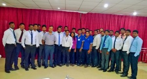 Customer service training for Dimo in Jaffna