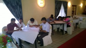 Agronomists training in Nuwaraeliya for Jagro