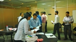 Team building workshop for Dialog Axiata
