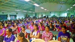 Women's day training program at Maliban Garments