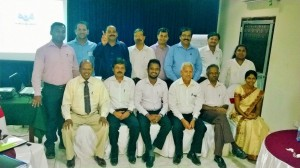 Presentation skills for IRCON International and CECB in Jaffna