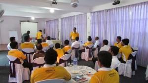 Training for Janashakthi, Batticoloa